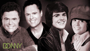 Donny Osmond Through The Years