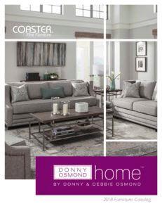 Donny Osmond Home 2018 Catalog